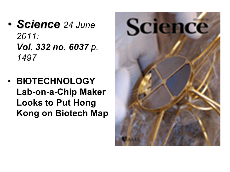 ScienceScience 24 June 2011: Vol.332 no. 6037 p.
