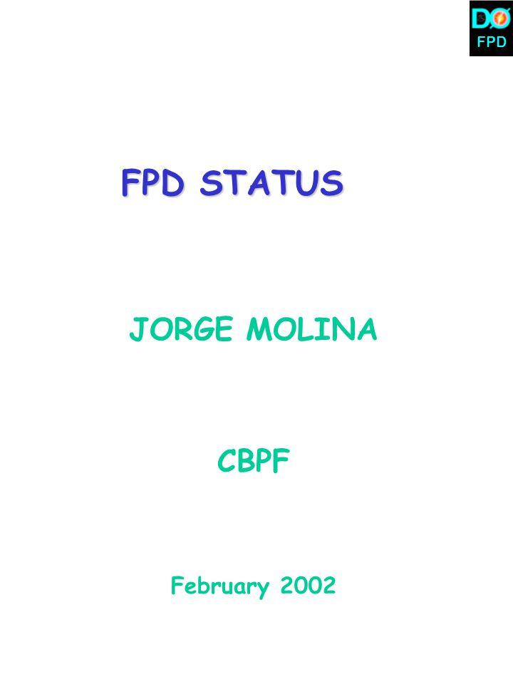 FPD FPD STATUS JORGE MOLINA CBPF February 2002