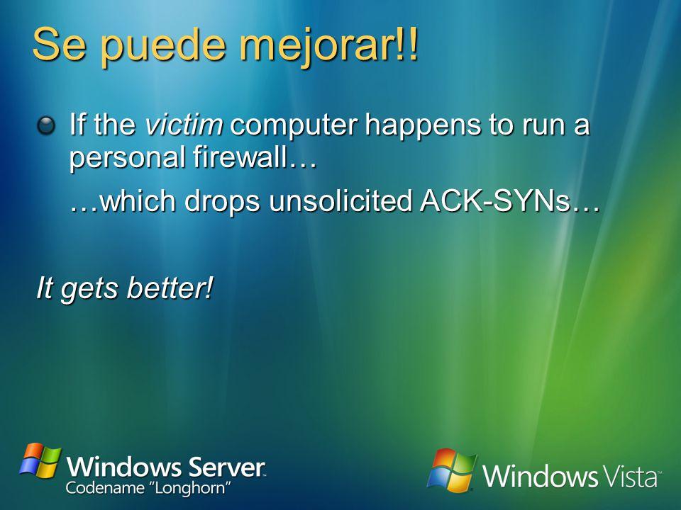 Ataques contra 802.1x 1.2.3.4 aa:bb:cc:dd:ee:f f 1.2.3.4 SYN ACK-SYN ACK-SYNACK-SYN RST ACK-RST ACK-RSTACK-RST