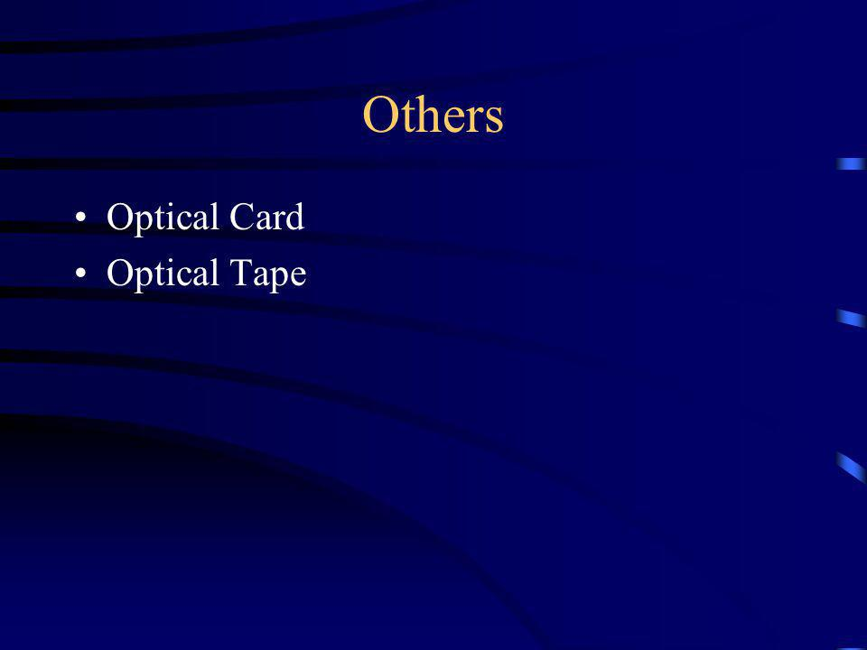 Others Optical Card Optical Tape