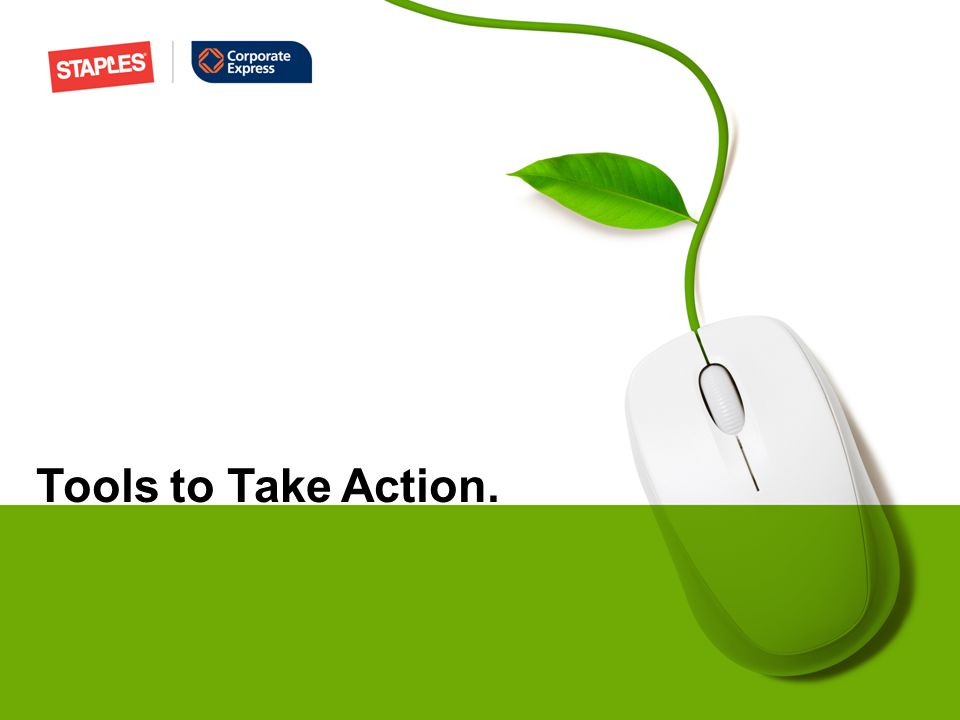 Tools to Take Action.