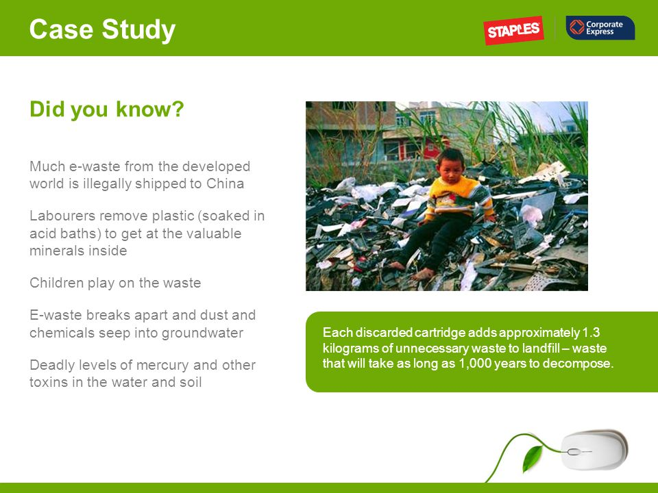 Case Study Did you know.