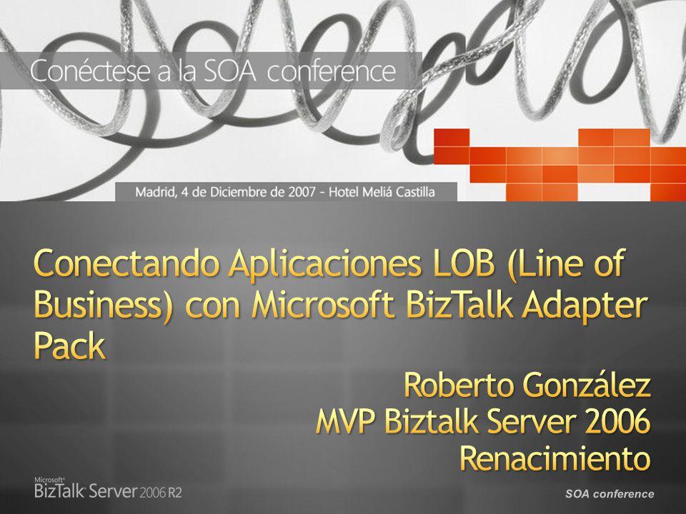 SOA conference Consumir un Adapter con.NET