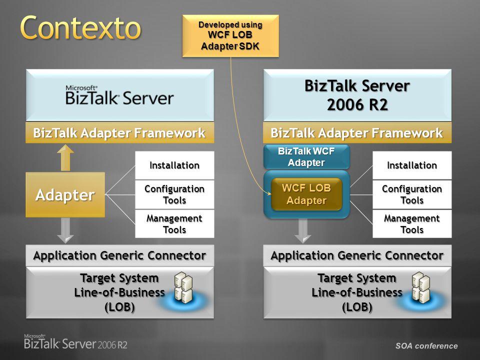 SOA conference Consumiendo un adaptador con BizTalk Server 2006 R2
