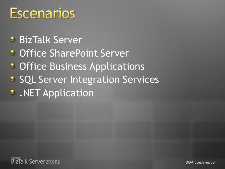SOA conference BizTalk Server Office SharePoint Server Office Business Applications SQL Server Integration Services.NET Application