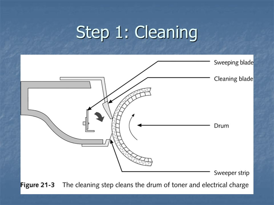 Step 1: Cleaning