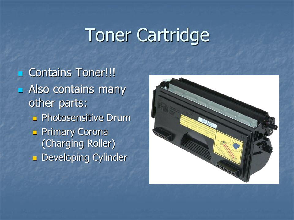 Toner Cartridge Contains Toner!!.Contains Toner!!.