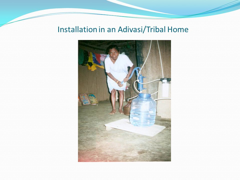 Installation in an Adivasi/Tribal Home