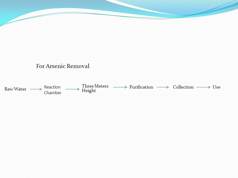 For Arsenic Removal Raw Water Three Meters Height PurificationUseReaction Chamber Collection