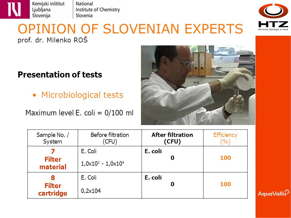 OPINION OF SLOVENIAN EXPERTS prof. dr.