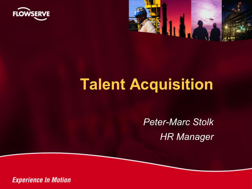 Peter-Marc Stolk HR Manager Talent Acquisition