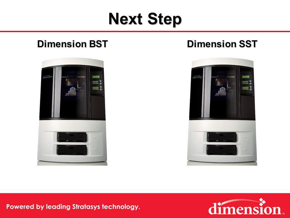 Dimension SST Dimension BST Next Step