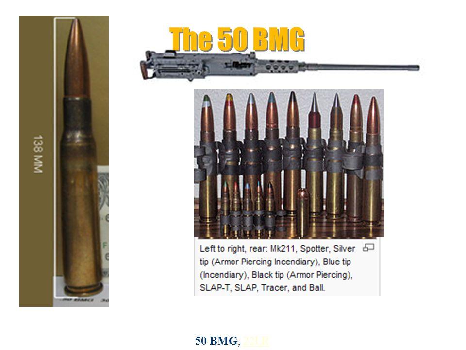 50 BMG, 22LR22LR The 50 BMG