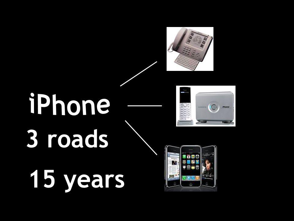 3 roads 15 years