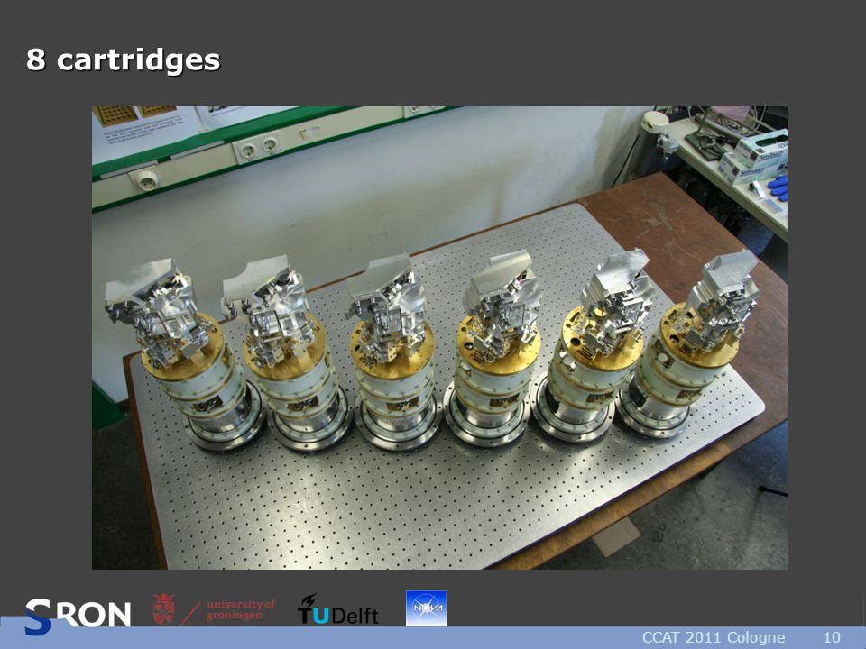 CCAT 2011 Cologne10 8 cartridges