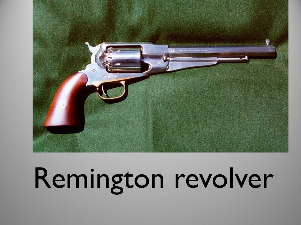 Remington revolver