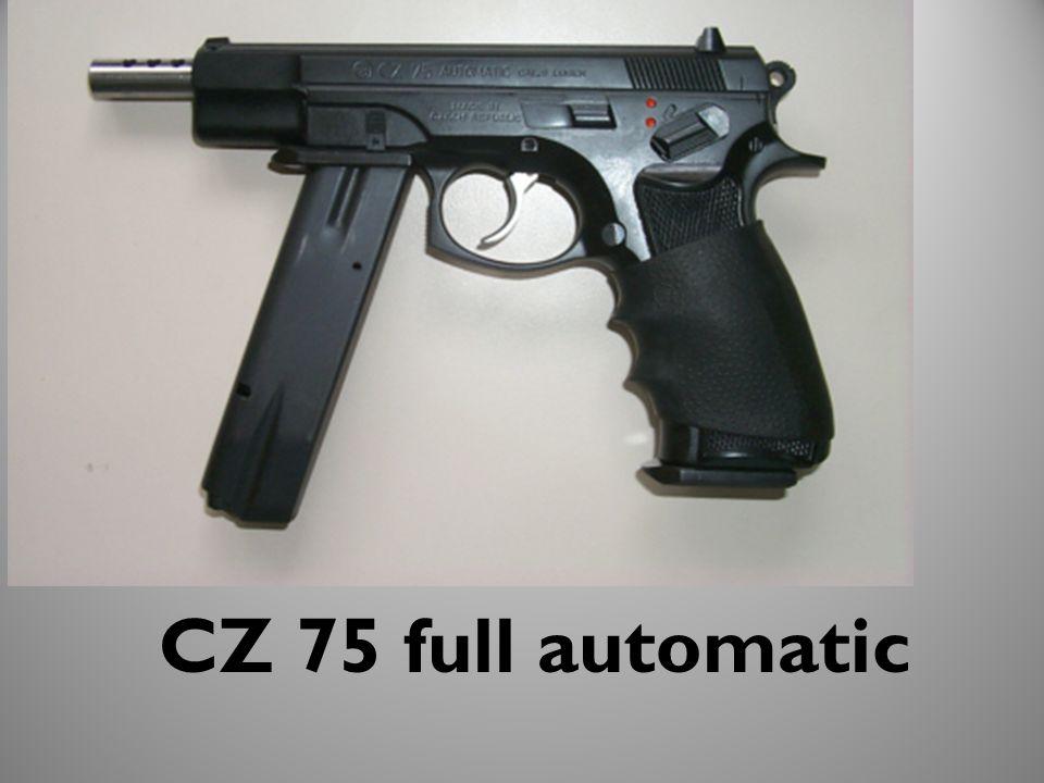 CZ 75 full automatic