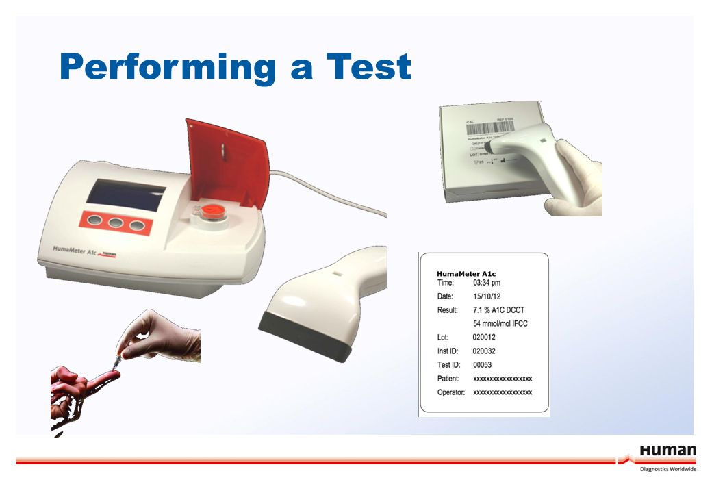 Performing a Test