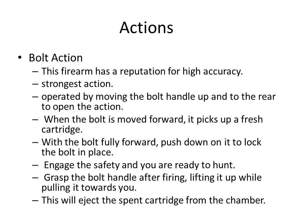 9. Treat every firearm as if it were loaded.