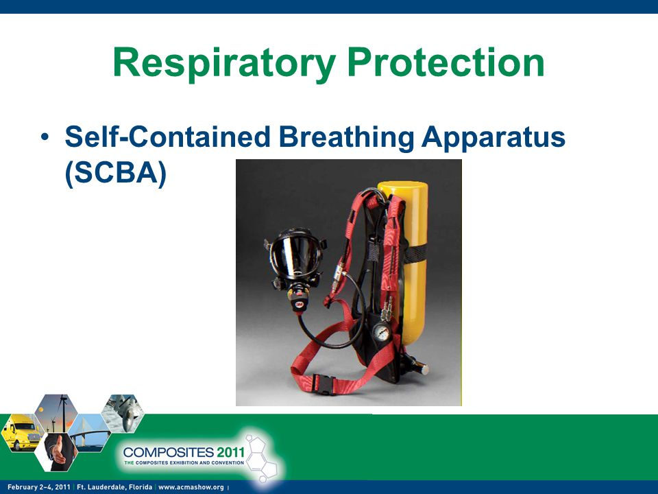 Respiratory Protection Self-Contained Breathing Apparatus (SCBA)