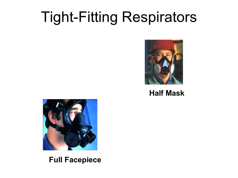 Tight-Fitting Respirators Half Mask Full Facepiece