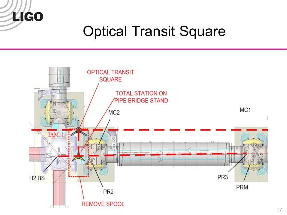 Optical Transit Square LIGO-G1100430 17