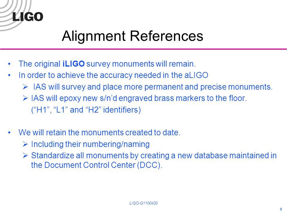 Lateral Transfer Retroreflector LIGO-G1100430 19
