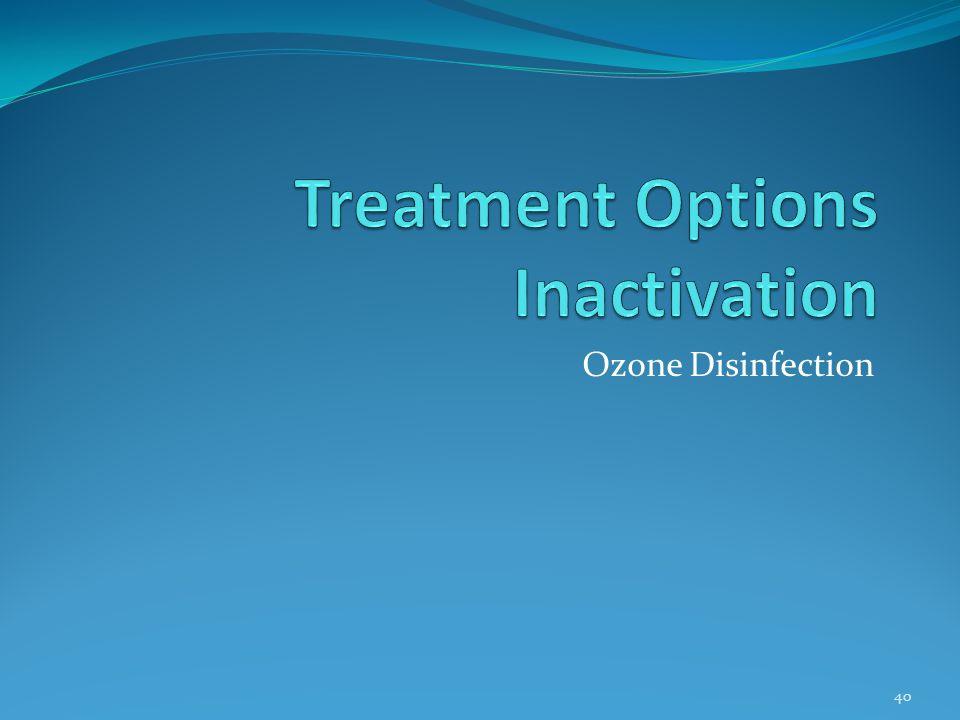 Ozone Disinfection 40