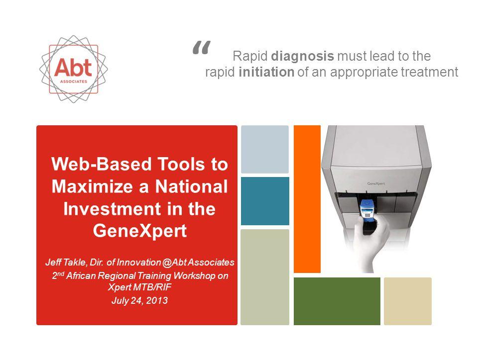 Abt Associates A Look Inside…XpertSMS