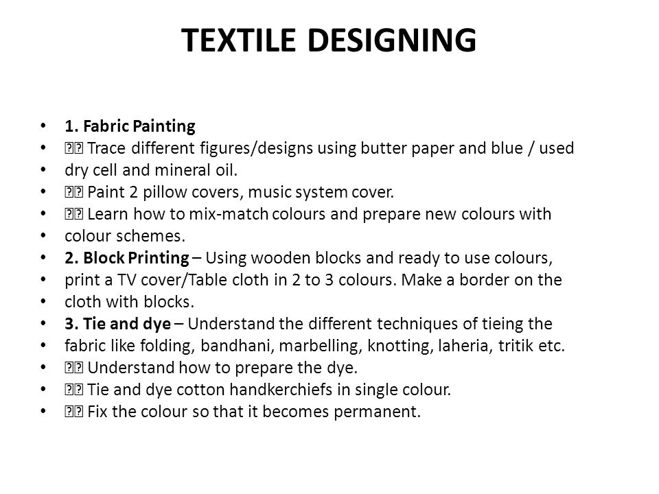 ELEMENTS OF DRESS DESIGNING (Cutting, Tailoring, Knitting and Embroidery) 1.