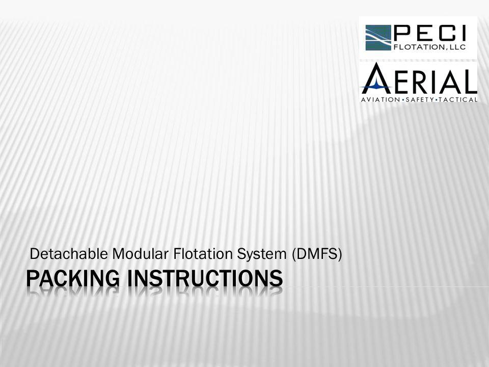 Detachable Modular Flotation System (DMFS) 1