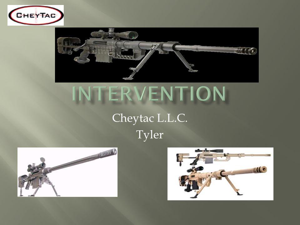 Cheytac L.L.C. Tyler