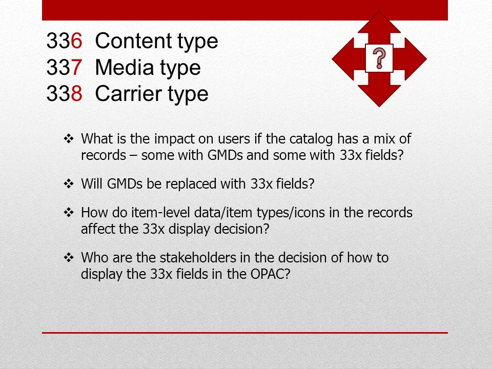 What is the impact on users if the catalog has a mix of records – some with GMDs and some with 33x fields.