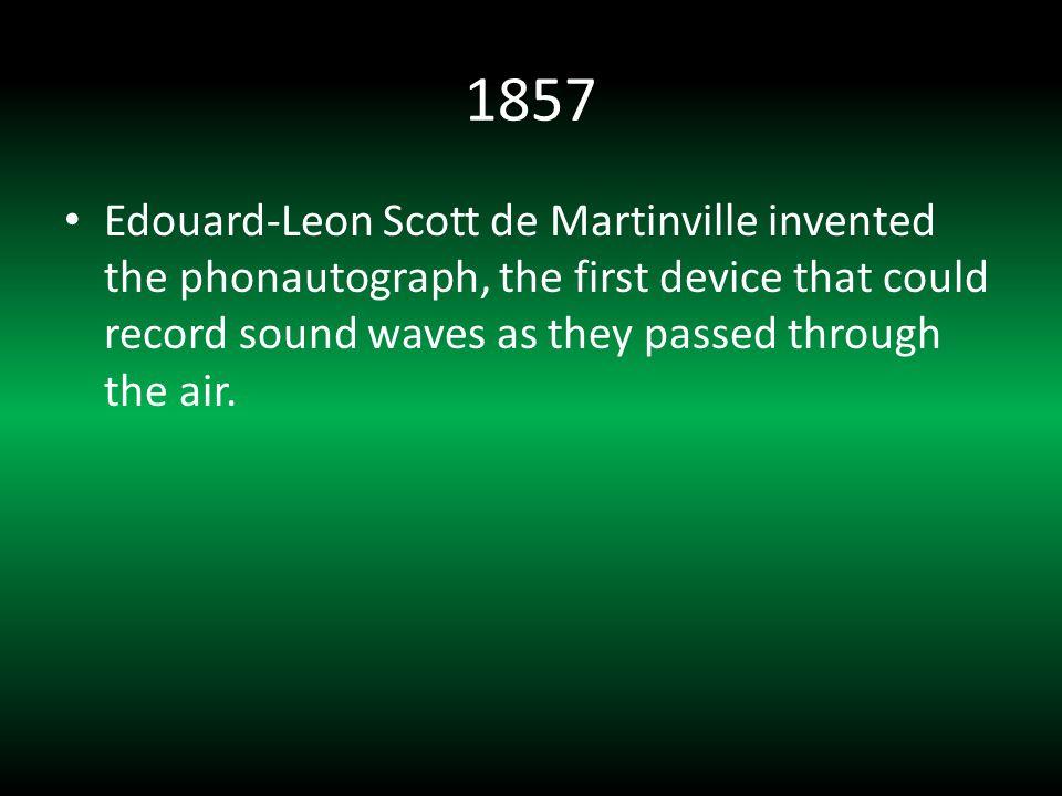 1924 Zenith develops the first portable radio.