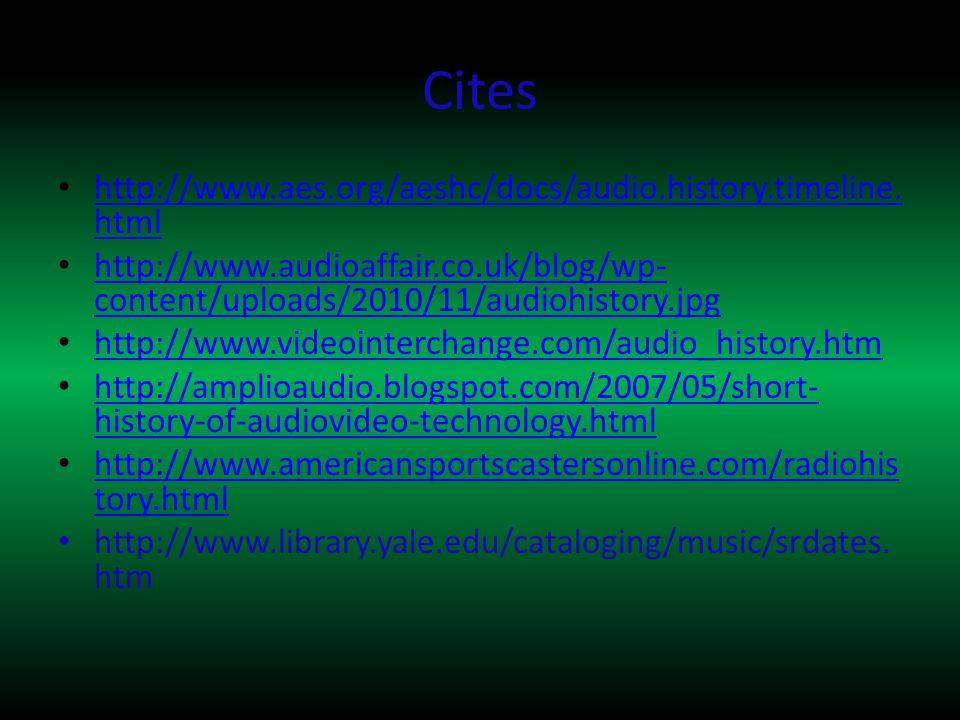 Cites http://www.aes.org/aeshc/docs/audio.history.timeline.