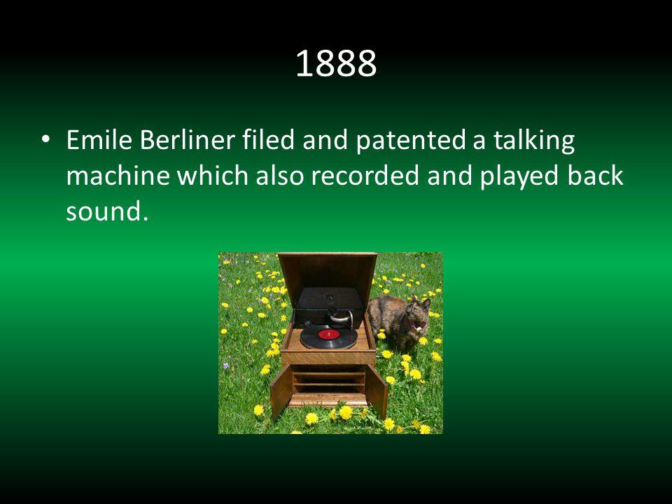 1943 Altec develops their Model 604 coaxial loudspeaker.