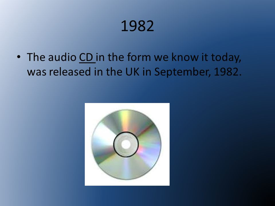1987 Introduced in 1987 for the professional studio market, digital audio tapes quickly claimed the high ground in professional recording industry circles.
