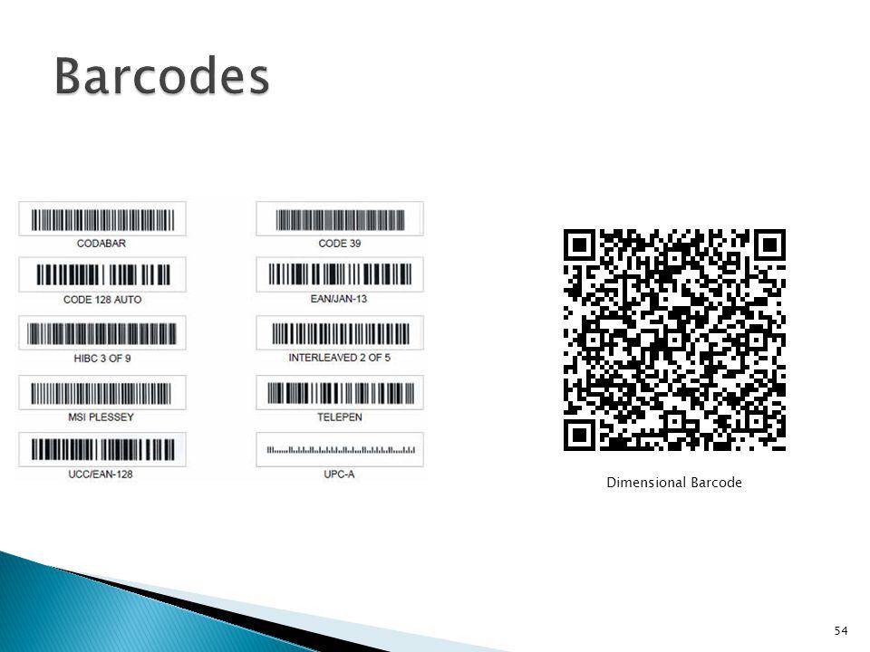 Dimensional Barcode 54