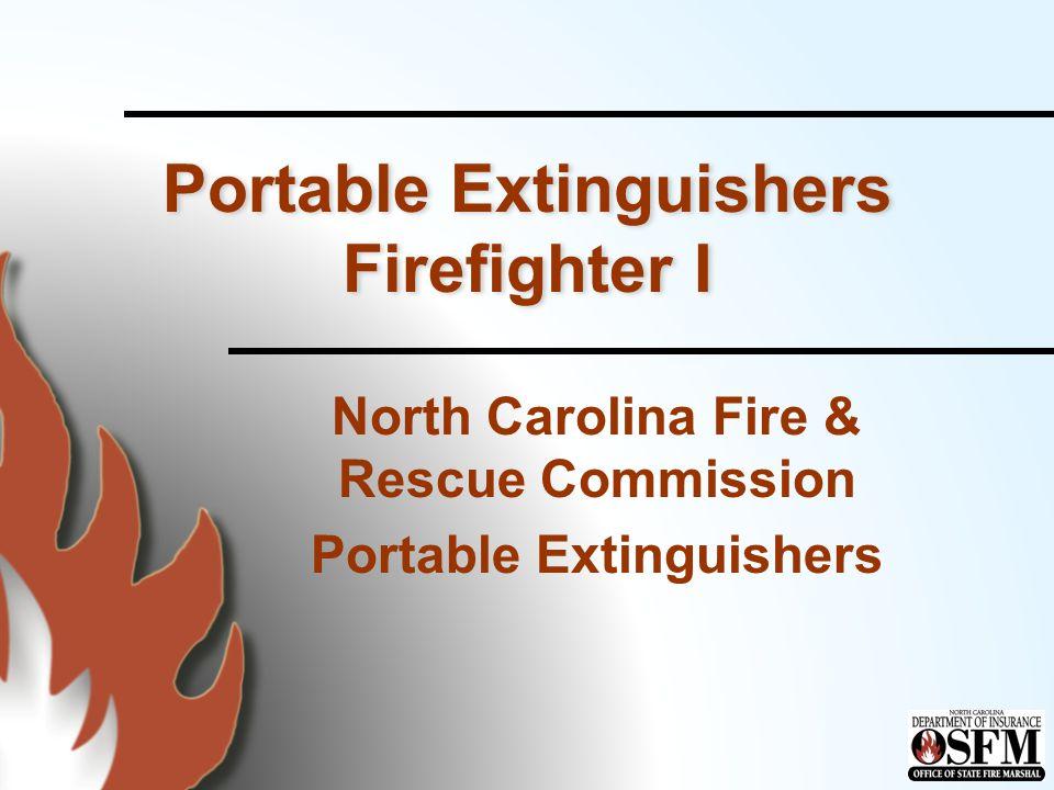 Obsolete Extinguishers n Carbon tetrachloride or chlorobromomethane n Halon –Halon 1211 –Halon 1301