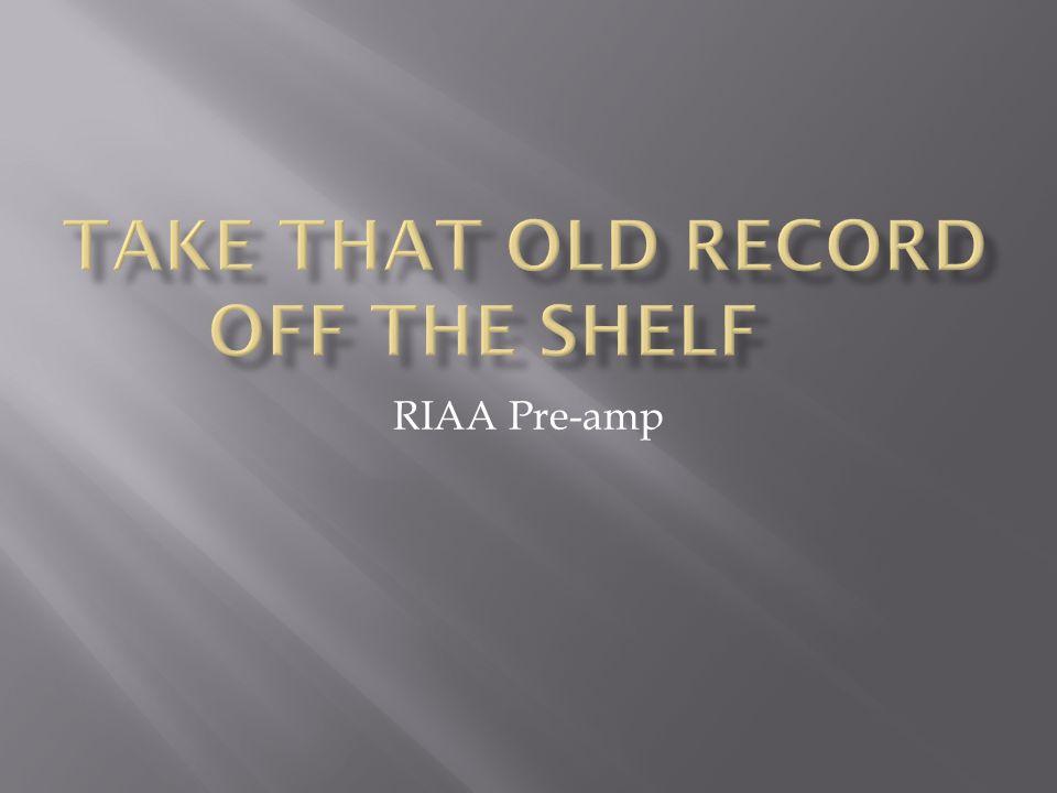 RIAA Pre-amp