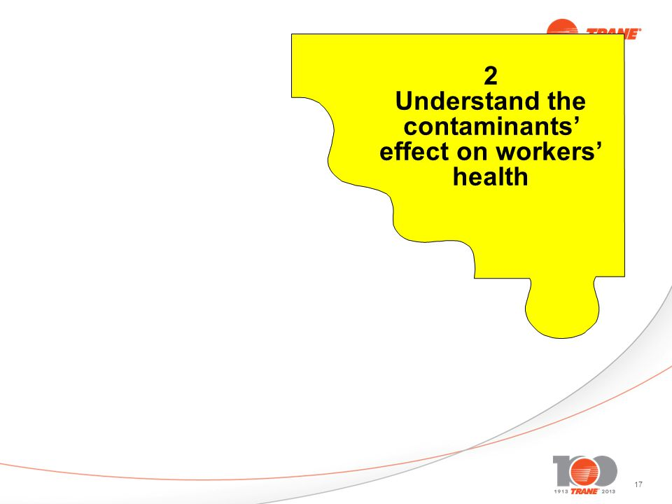 17 2 Understand the contaminants effect on workers health