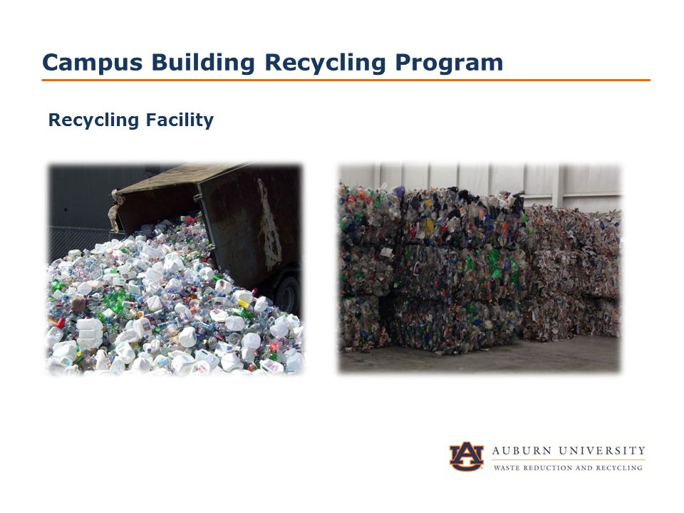Campus Building Recycling Program Recycling Facility