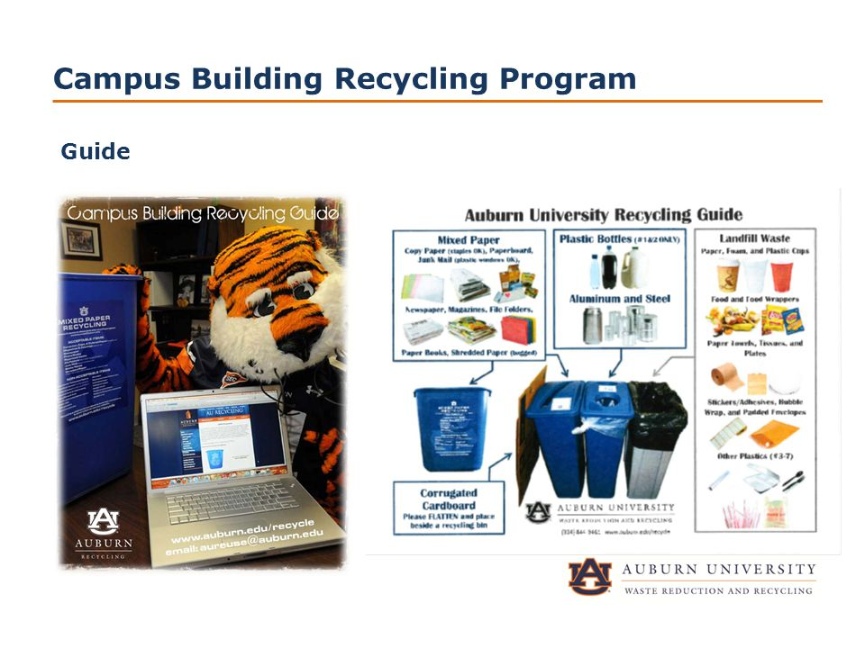 Campus Building Recycling Program Guide