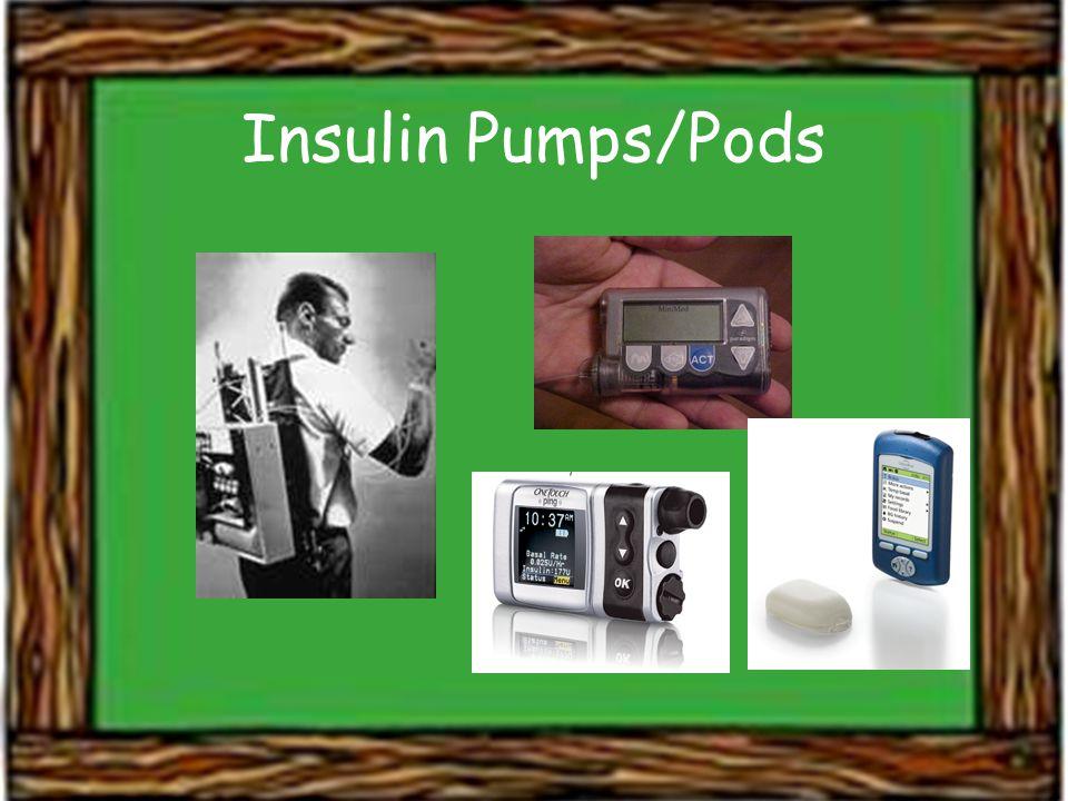 Insulin Pumps/Pods