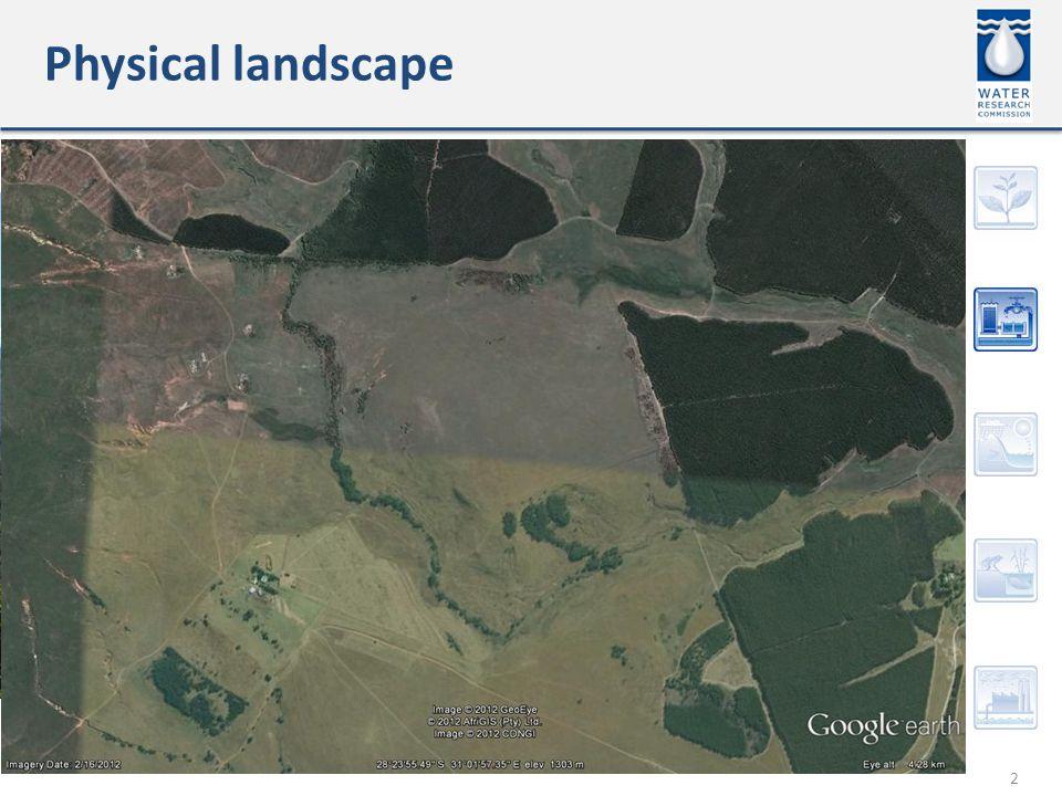 Physical landscape 2