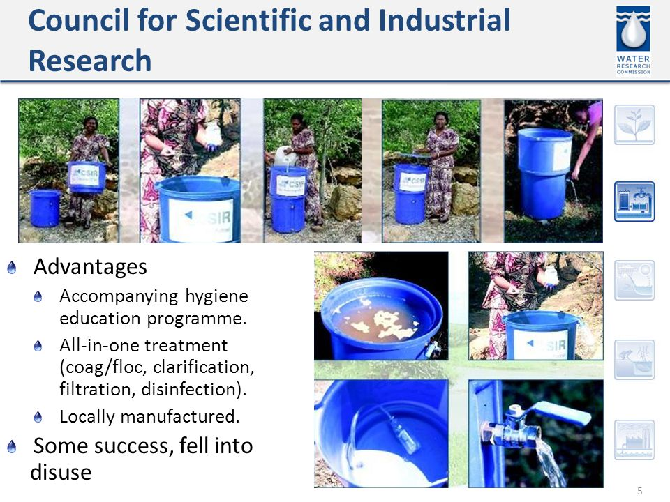 Council for Scientific and Industrial Research 5 Advantages Accompanying hygiene education programme.