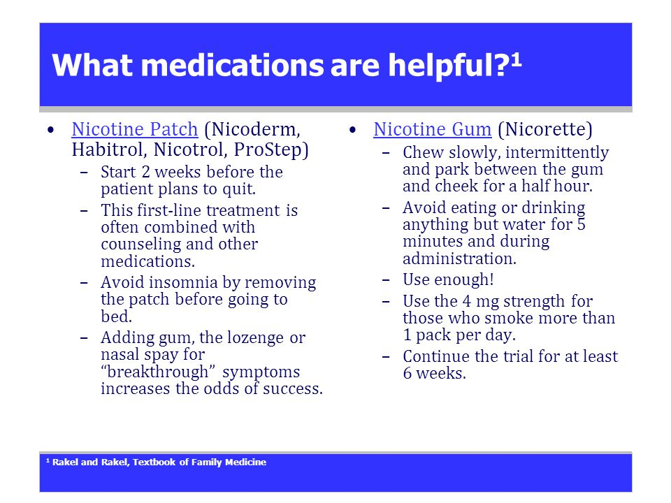 What medications are helpful.