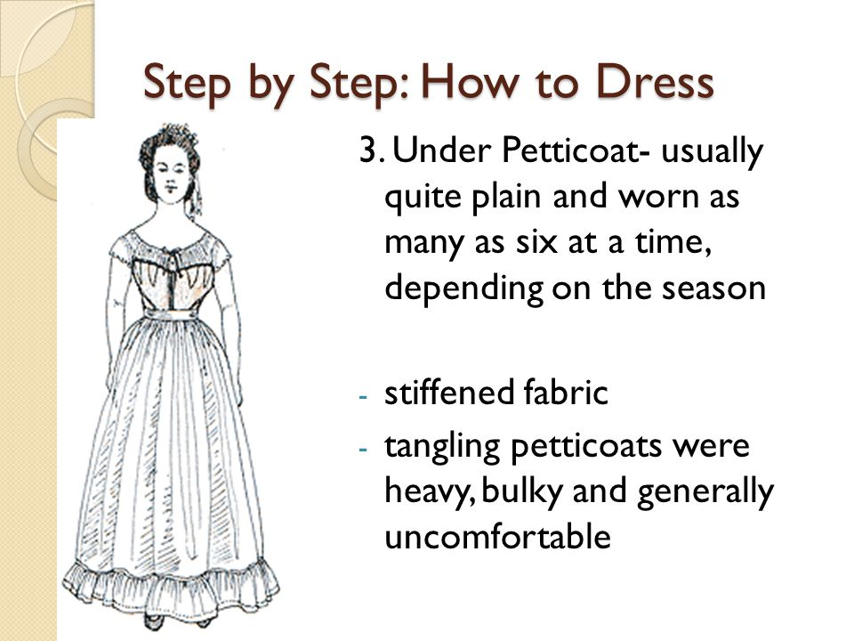 Step by Step: How to Dress 3.