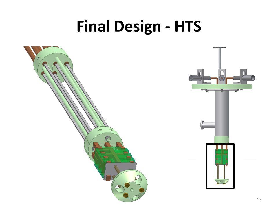 Final Design - HTS 17