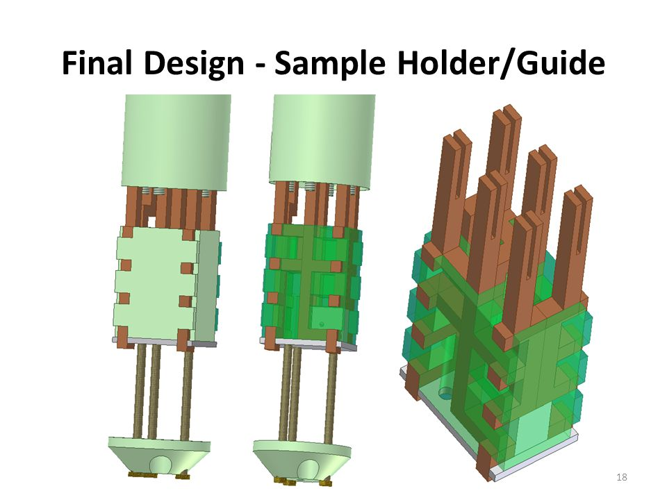 Final Design - Sample Holder/Guide 18